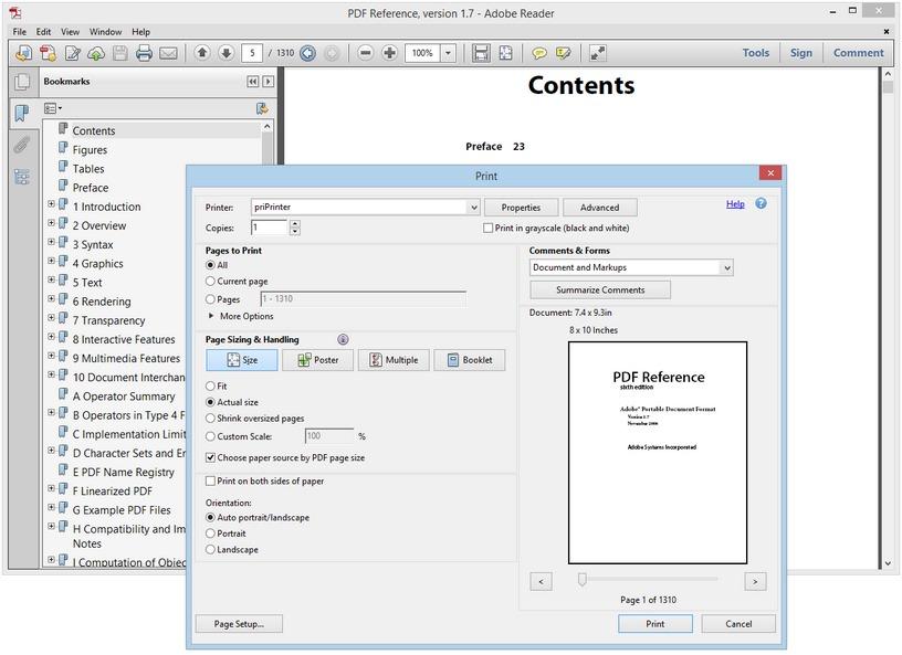 الطباعة أسهل وأدق priPrinter Professional 6.1.1.2302 Beta مصور,بوابة 2013 acrobat.jpg