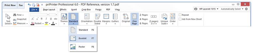 الطباعة أسهل وأدق priPrinter Professional 6.1.1.2302 Beta مصور,بوابة 2013 selectbooklet.png